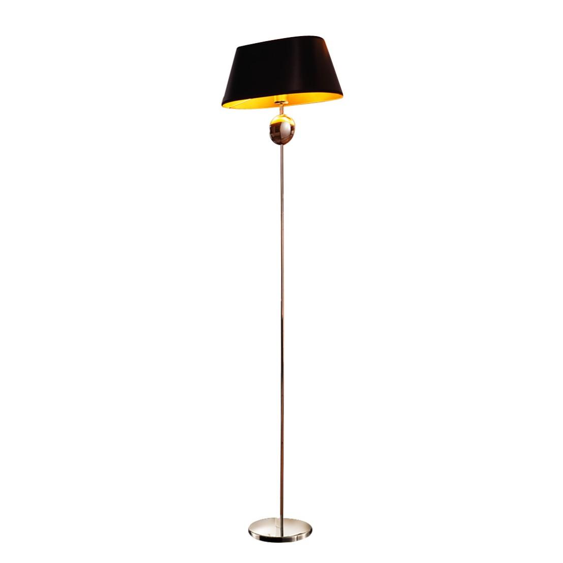 EEK A++, Lampadaire Indus - Papier / Acier inoxydable - 1 ampoule, Lampadina
