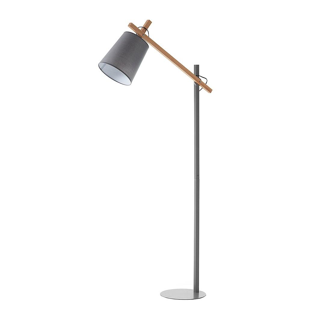 EEK A++, Lampadaire Kosta II - Métal / Bois - 1 ampoule, Norrwood