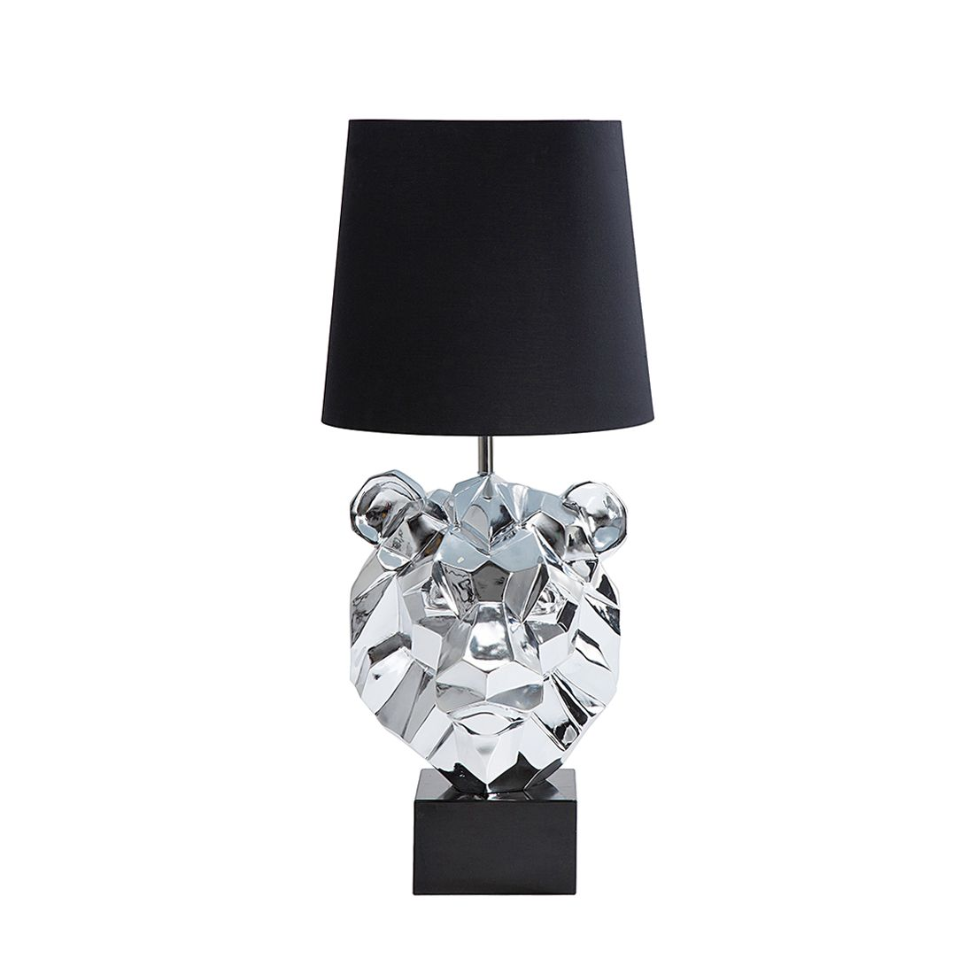 EEK A++, Lampadaire Lion Head - Chrome, Kare Design