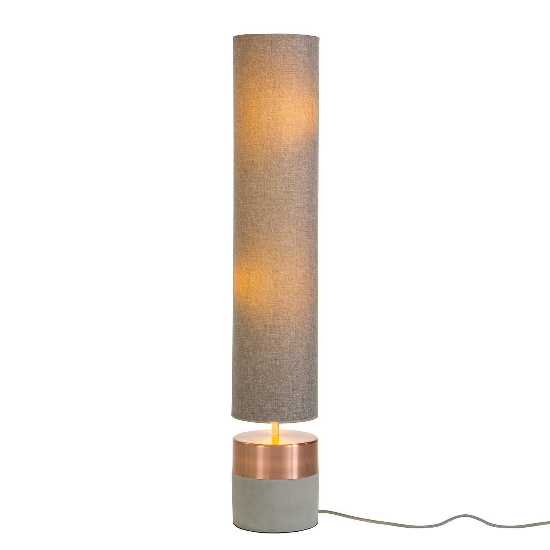 EEK A++, Lampadaire Mello - Coton / Béton - 1 ampoule, Loistaa