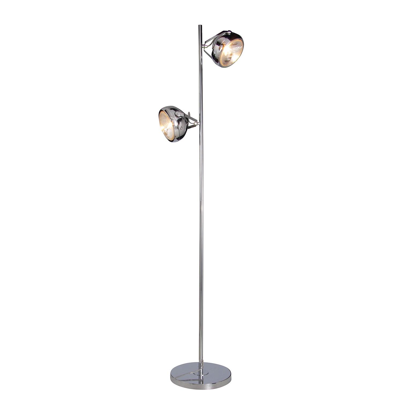EEK C, Lampadaire - Métal Argenté 2 ampoules, Näve