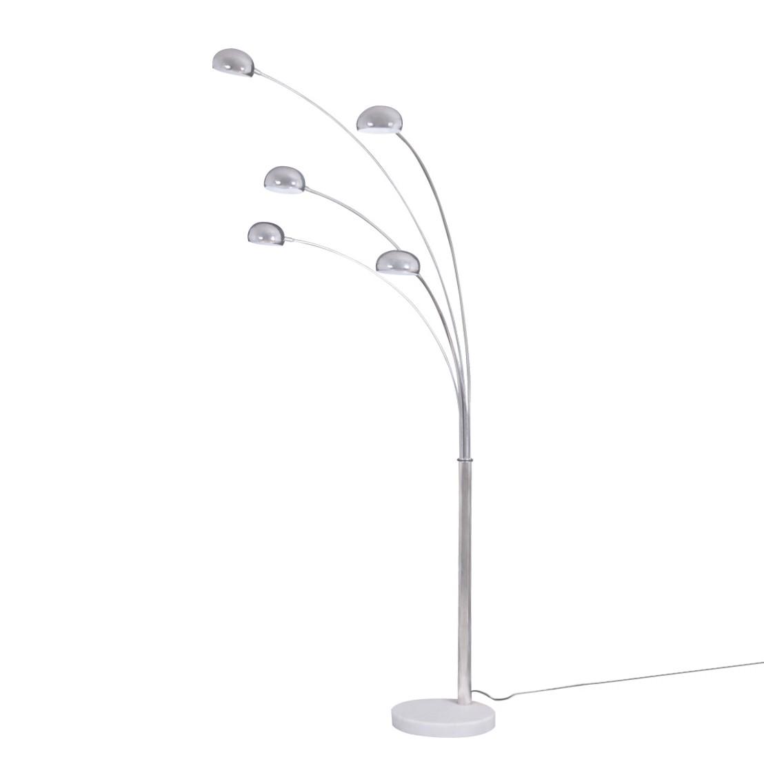 EEK A++, Lampadaire Mignolo - Métal / Marbre - 5 ampoules, Loistaa