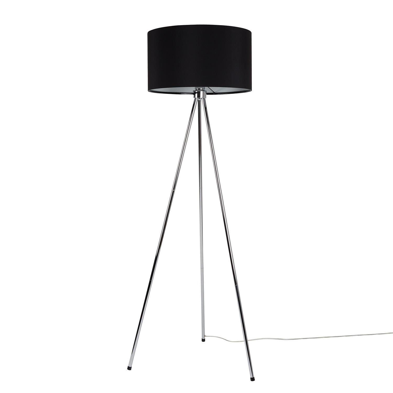 EEK A++, Lampadaire Tripod New Twist - 1 ampoule Noir Métal, Zuiver