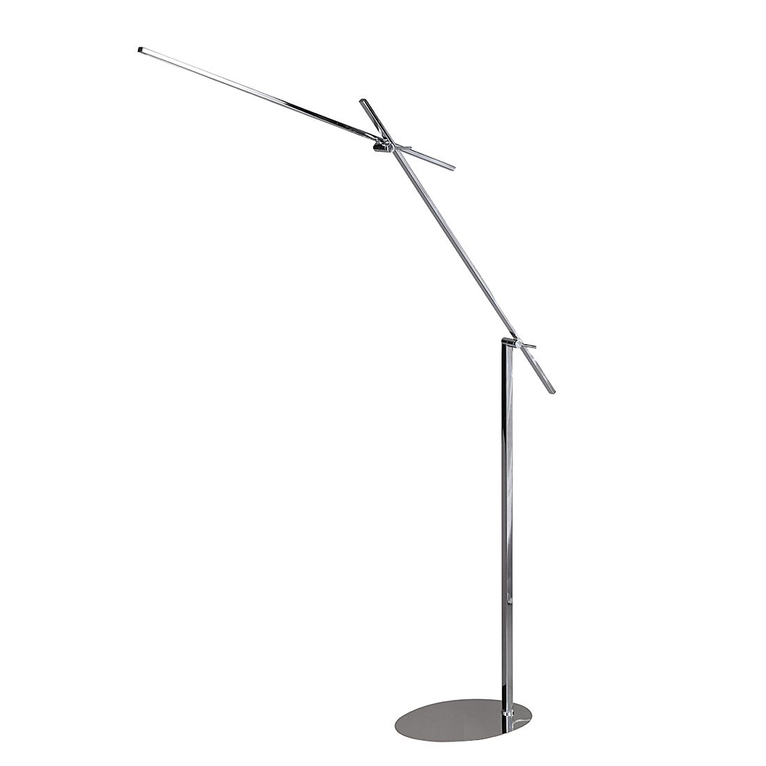 energie  A+, Staande lamp ORBIT - metaal/kunststof - 1 lichtbron, Wofi
