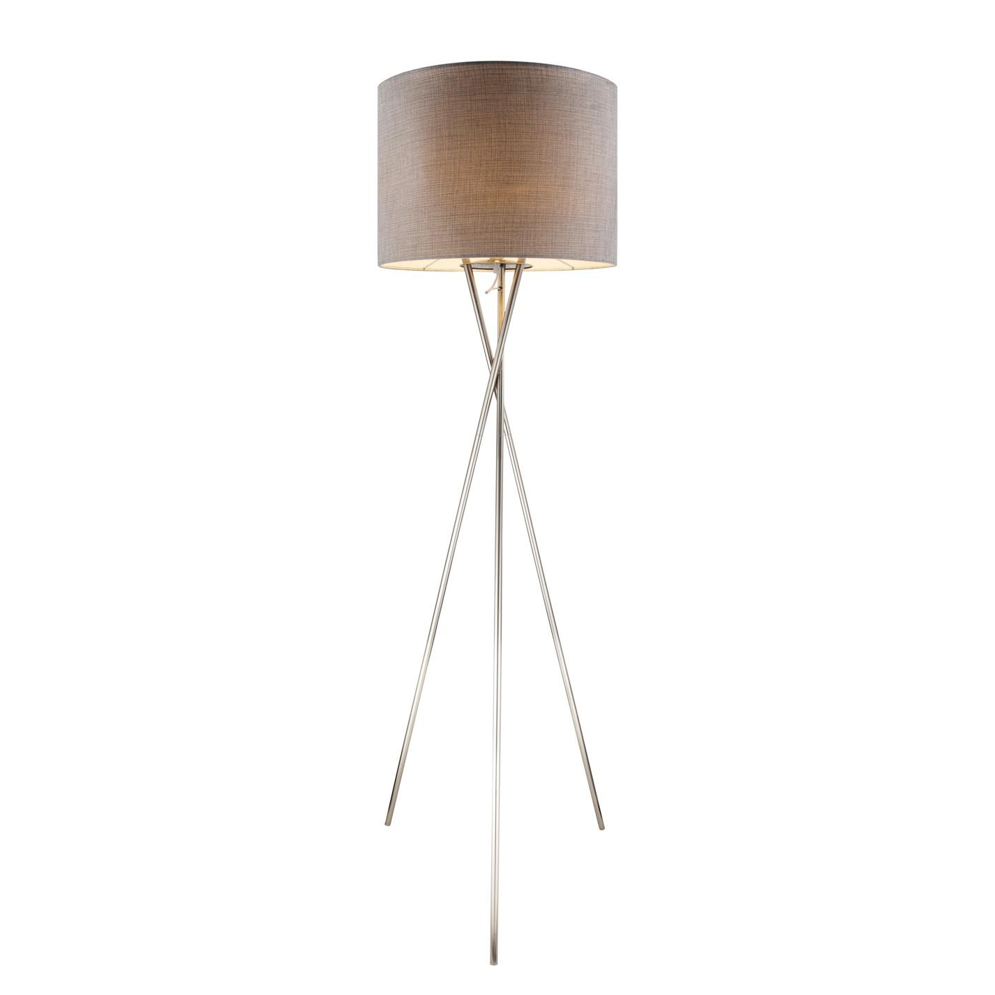 EEK A++, Lampadaire Paco II - Tissu / Métal - 1 ampoule, Globo Lighting