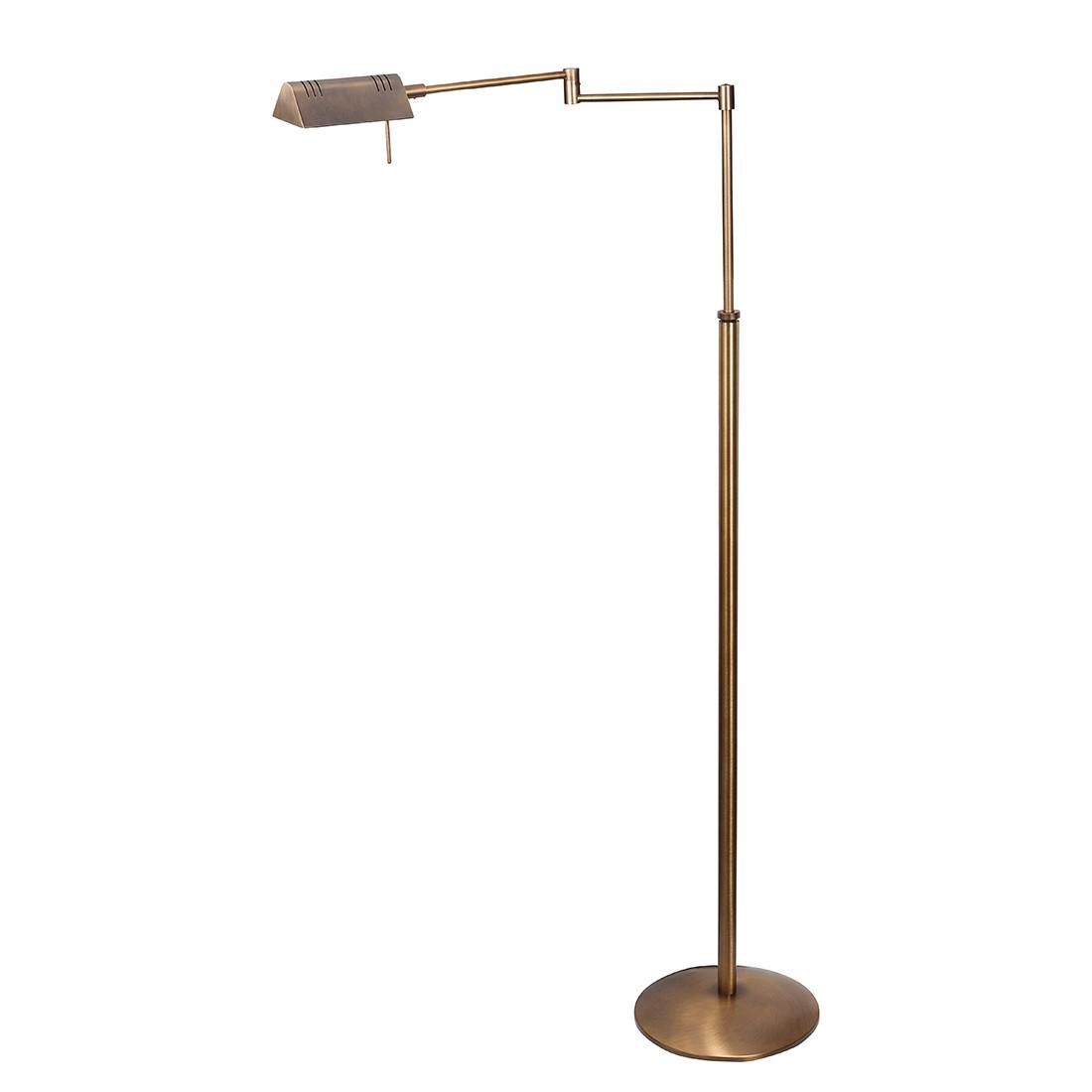 energie  A+, LED-staande lamp Perpetua - 1 lichtbron gebruind messing, Steinhauer