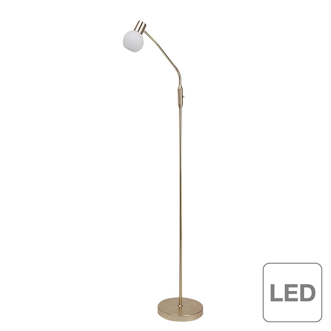 energie  A++, Staande lamp Philo - 1 lichtbron, Brilliant
