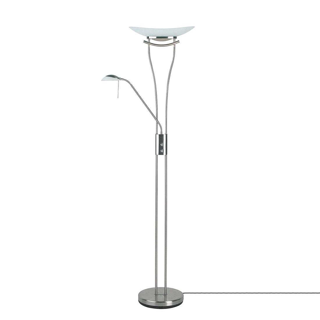 energie  A+, Staande lamp Ravenna - met leeslampje - 2 lichtbronnen, Brilliant