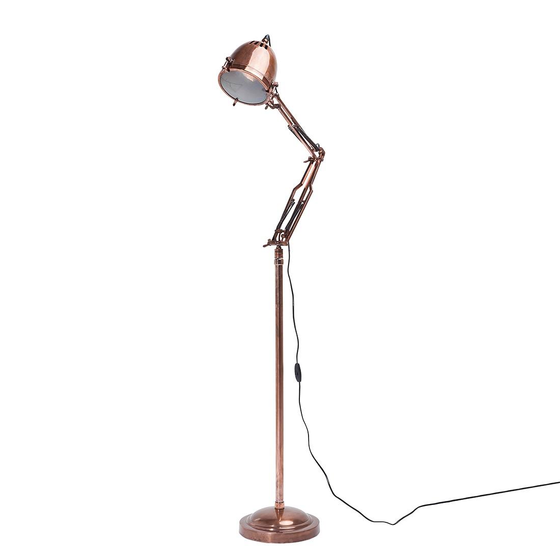 EEK A++, Lampadaire Rifugio - Métal Marron 1 ampoule, Kare Design