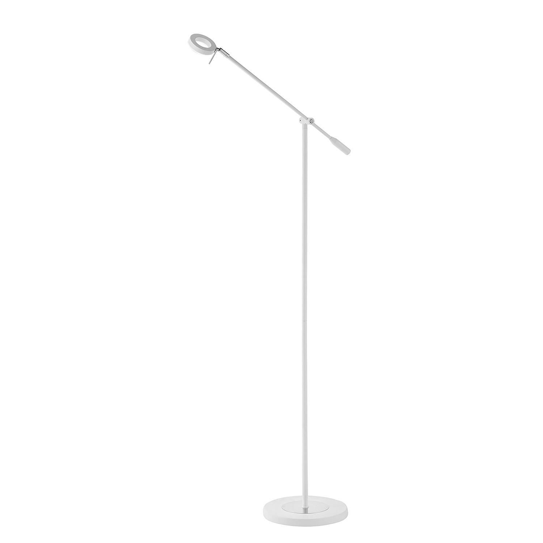 EEK A+, Lampadaire LED Sileda - Fer Blanc, Paul Neuhaus