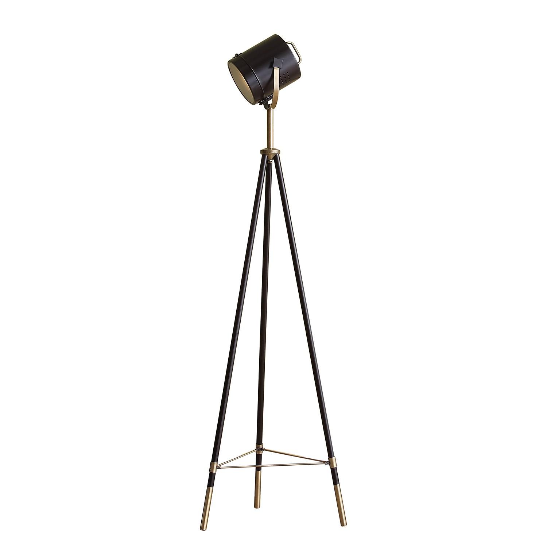 EEK A++, Lampadaire Tripod Spotlight - Fer - 1 ampoule, Loistaa
