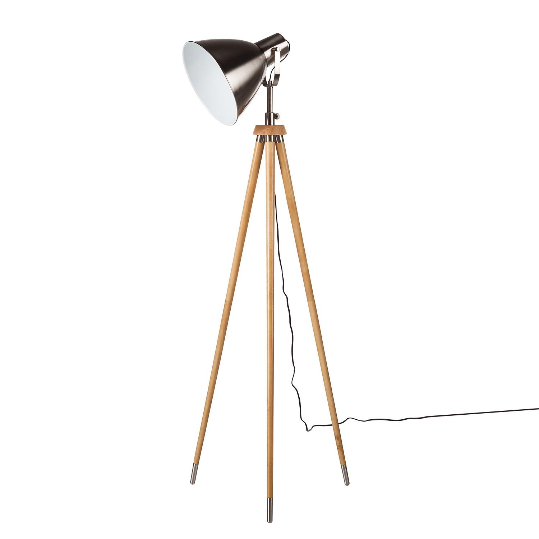 EEK A++, Lampadaire Tripod Studio7 - Pin massif / Métal - 1 ampoule, Loistaa
