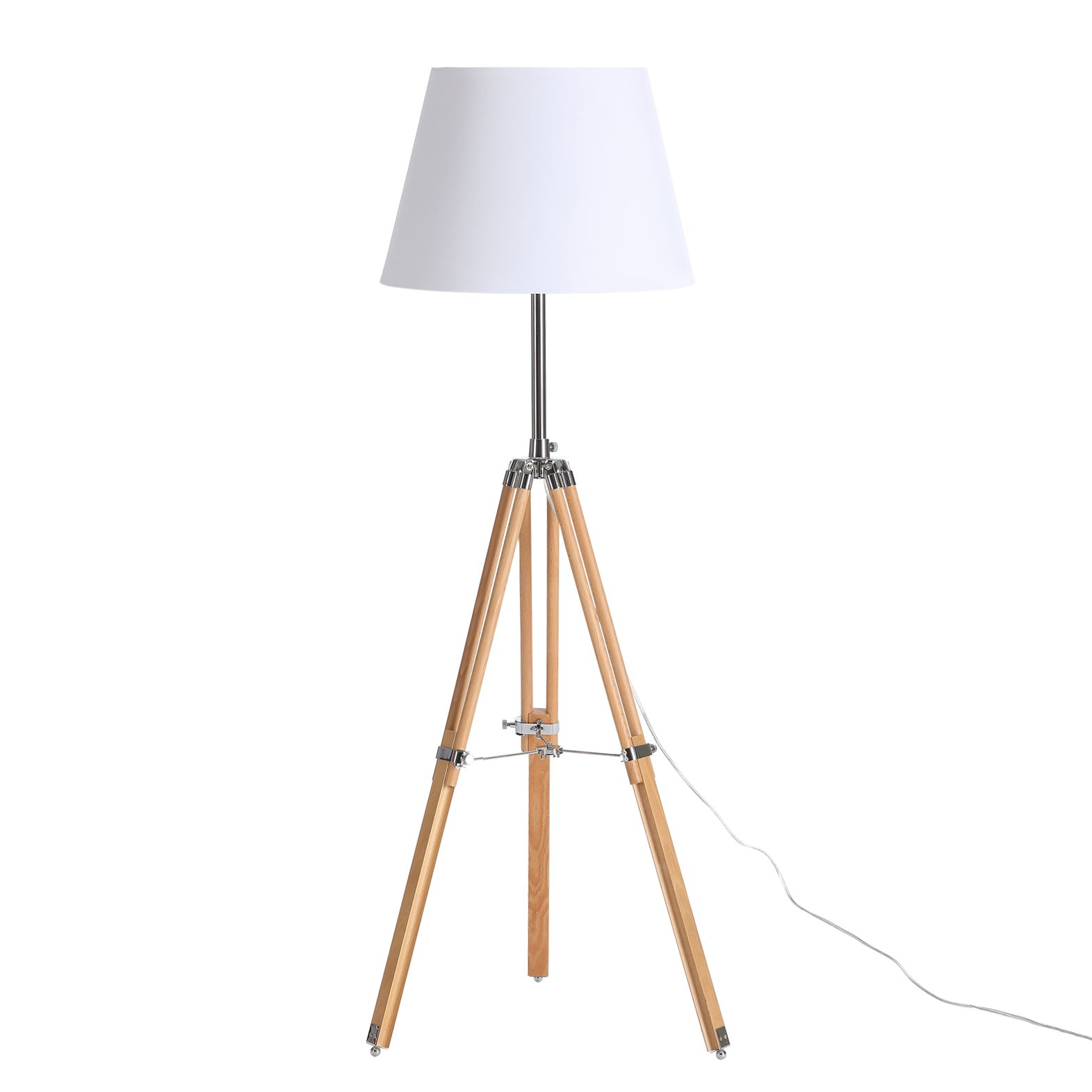 EEK A++, Lampadaire Trylith - Blanc 1 ampoule, Loistaa