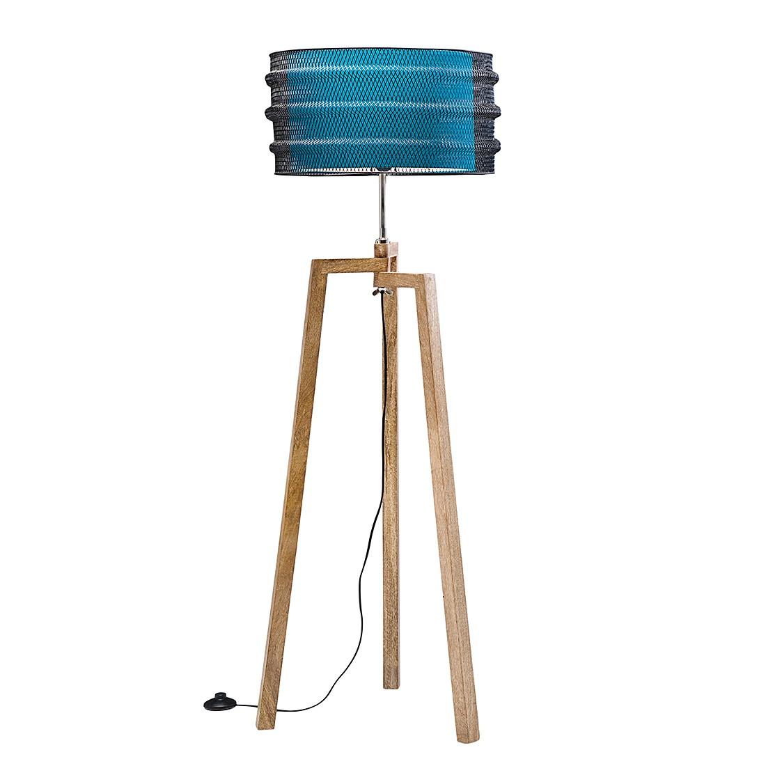 EEK A++, Lampadaire Wire Tripod - Manguier / Coton / Fer, Kare Design