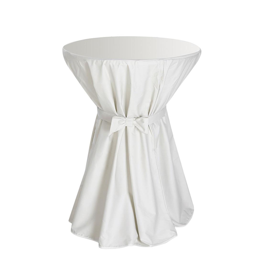 Stehtisch-Husse - Textil - Cremeweiß, Best Freizeitmöbel