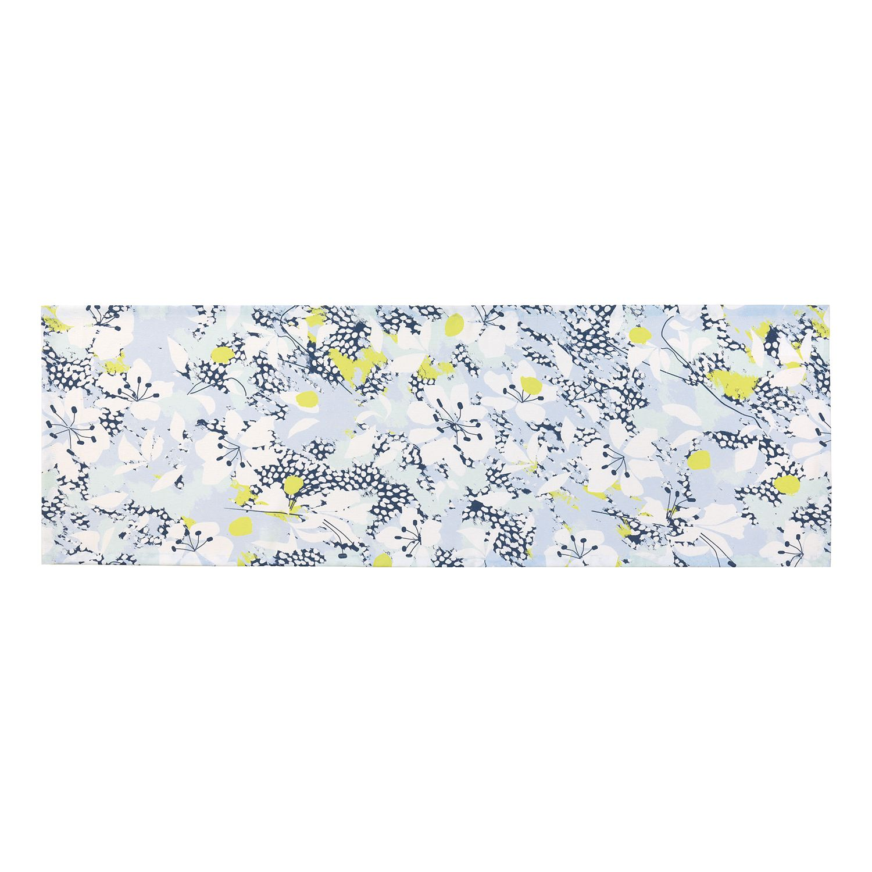 Tafelloper Fela - geweven stof - Blauw/wit, Esprit Home