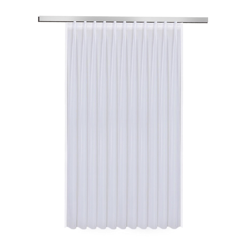 Gordijn Lisa - geweven stof - wit - 306x175cm, Gerster