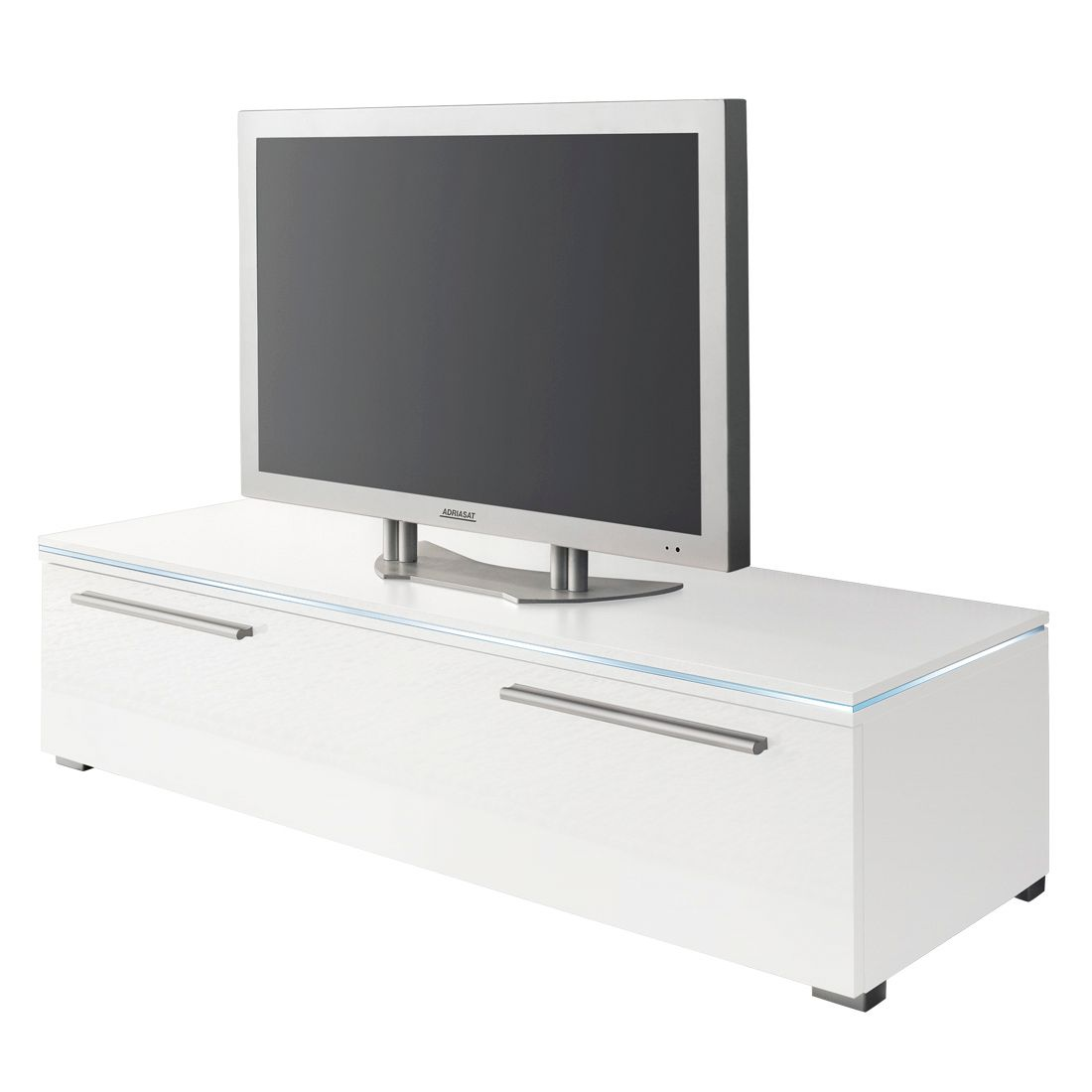 Meuble TV Stripe - Blanc - 150 cm, California