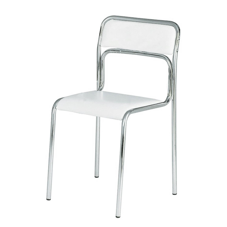 Stuhl Weiß Kunstleder Preisvergleich • Die besten Angebote