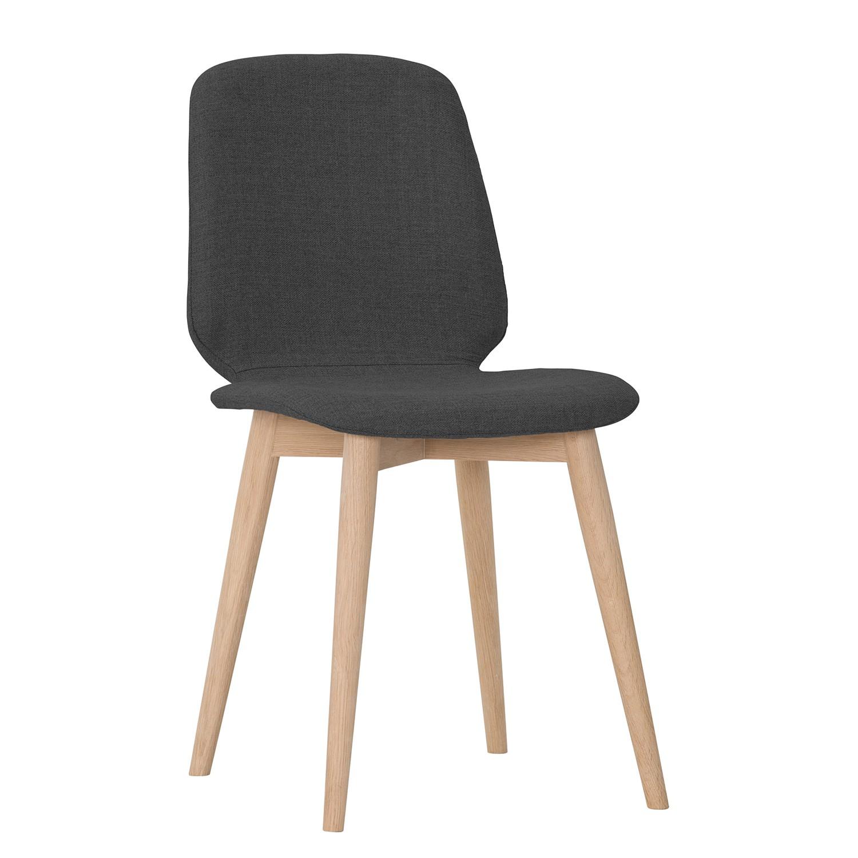 polsterstuhl helvig iii 2er set webstoff eiche. Black Bedroom Furniture Sets. Home Design Ideas