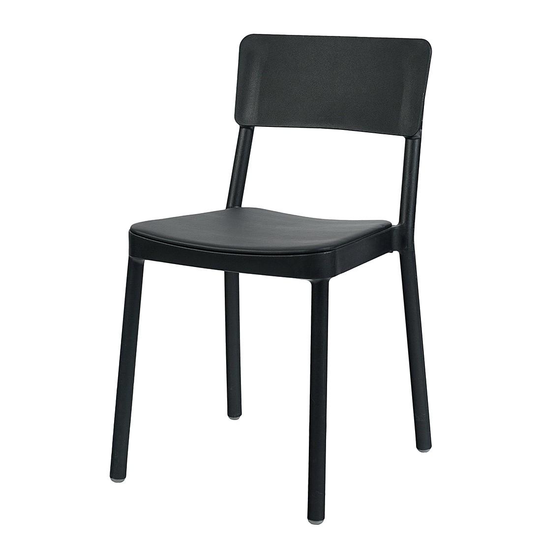 schwarze st hle speisen m belideen. Black Bedroom Furniture Sets. Home Design Ideas