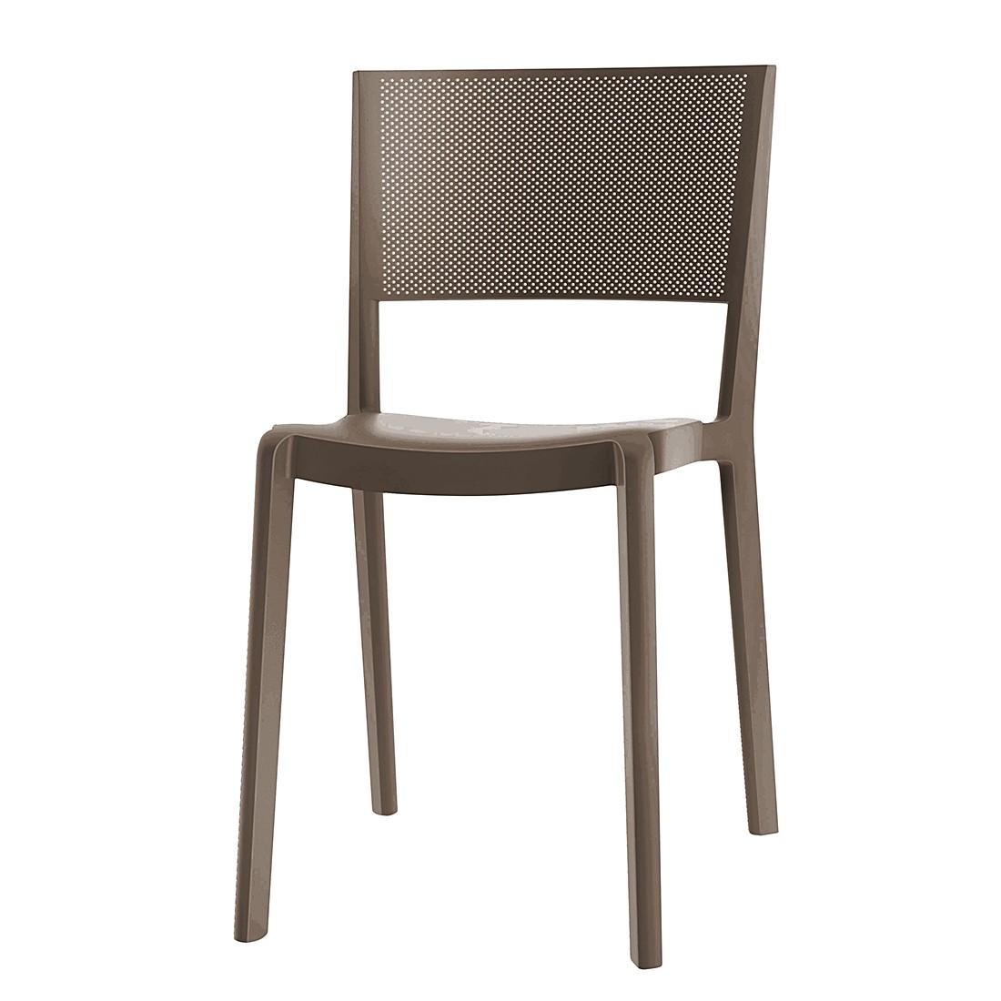 Stuhl Spot (2er-Set) - Schokolade, Viggo