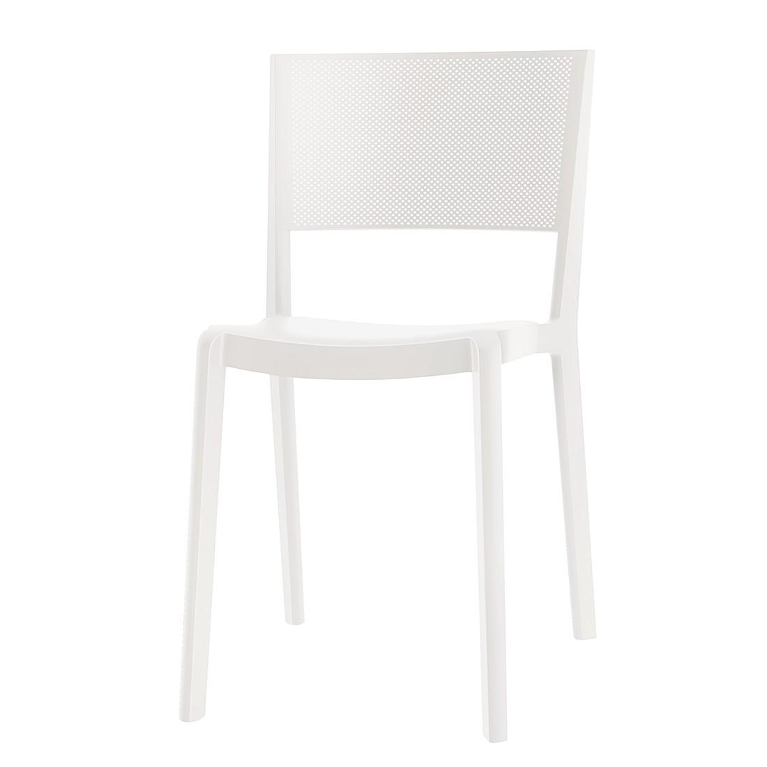 Stuhl Spot (2er-Set) - Weiß, Viggo