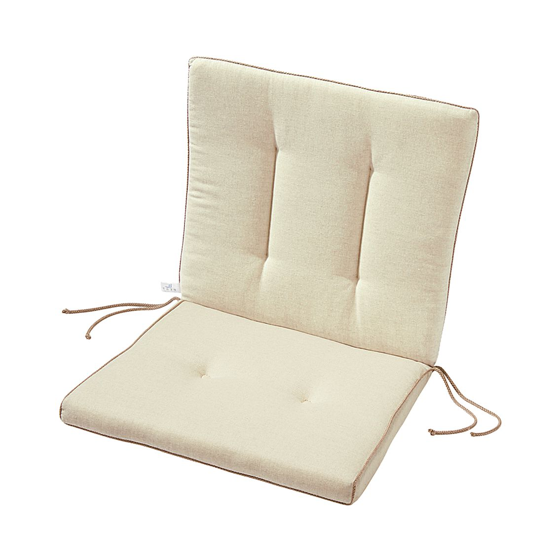 Home 24 - Coussin de chaise antigua - naturel, best freizeitmöbel