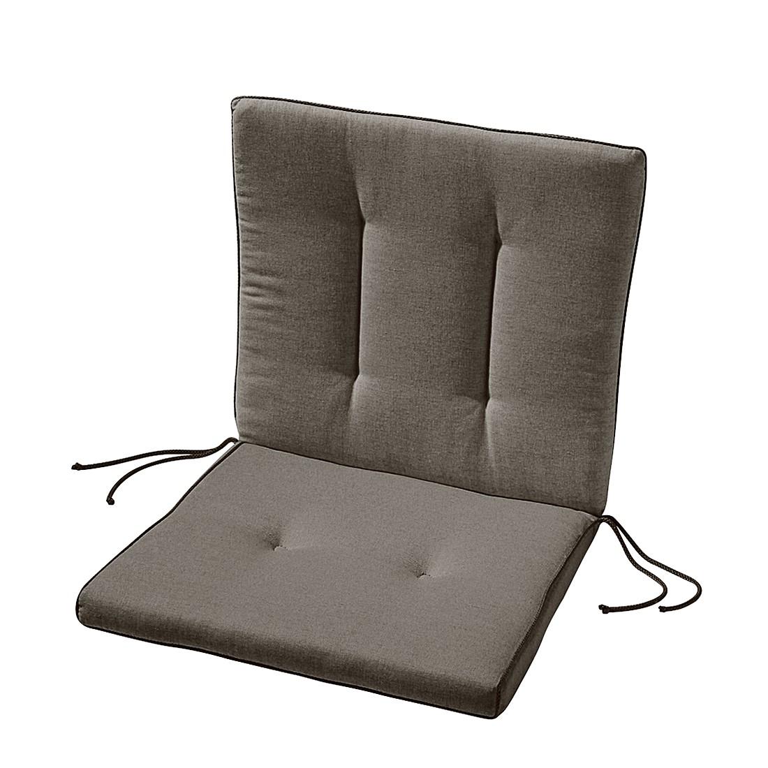 Home 24 - Coussin de chaise antigua - stone, best freizeitmöbel