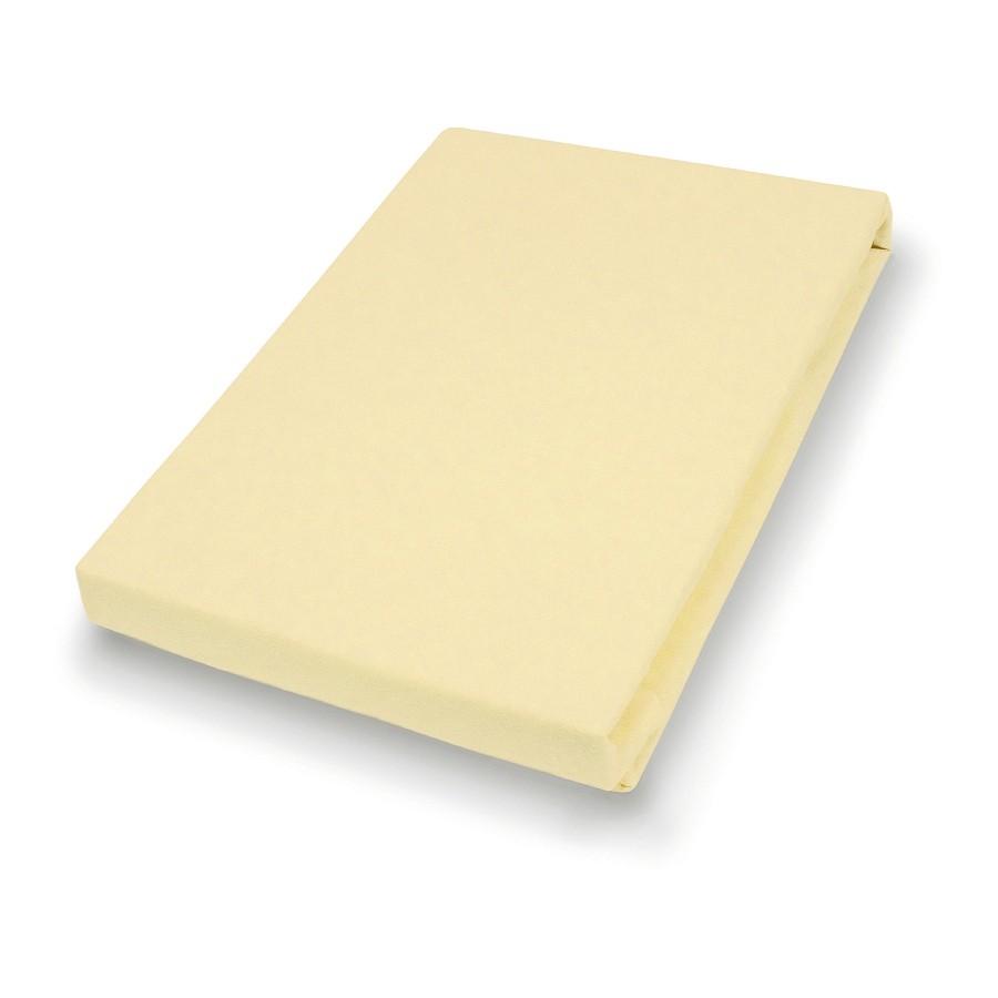 Hoeslaken Sotta - Pastelgeel - 180-200x200cm, vario