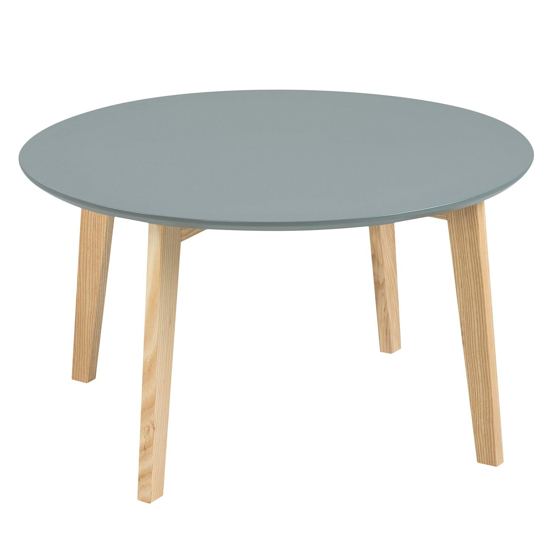 Tavolino da salotto parzialmente massello Bramming - Grigio scuro, Morteens