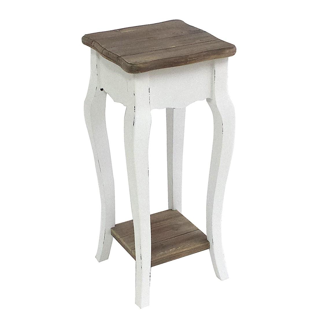 Tavolino porta telefono Curvelo - Legno parzialmente massello di paulonia, Maison Belfort
