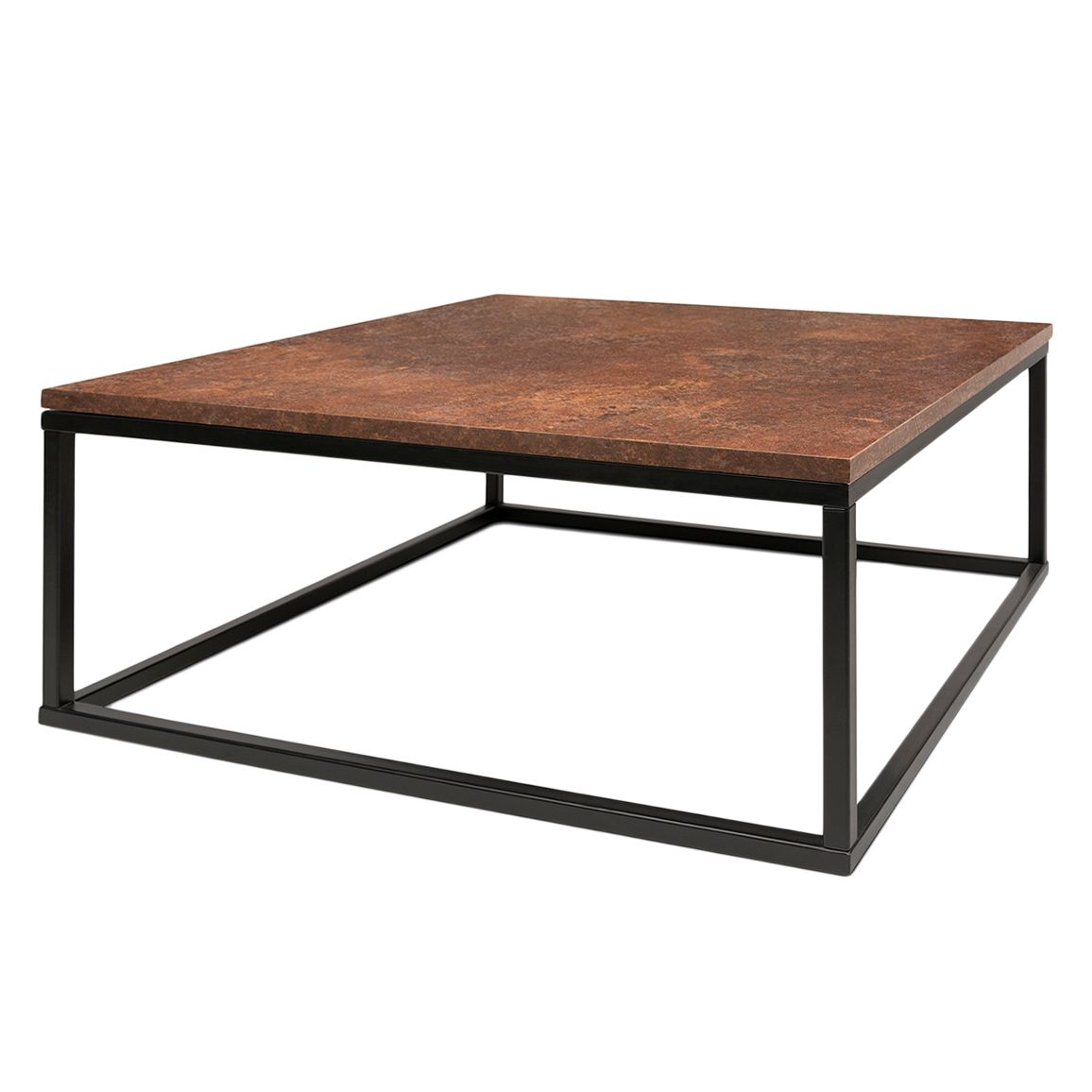 Table basse Fountain - Marron / Noir, ars manufacti