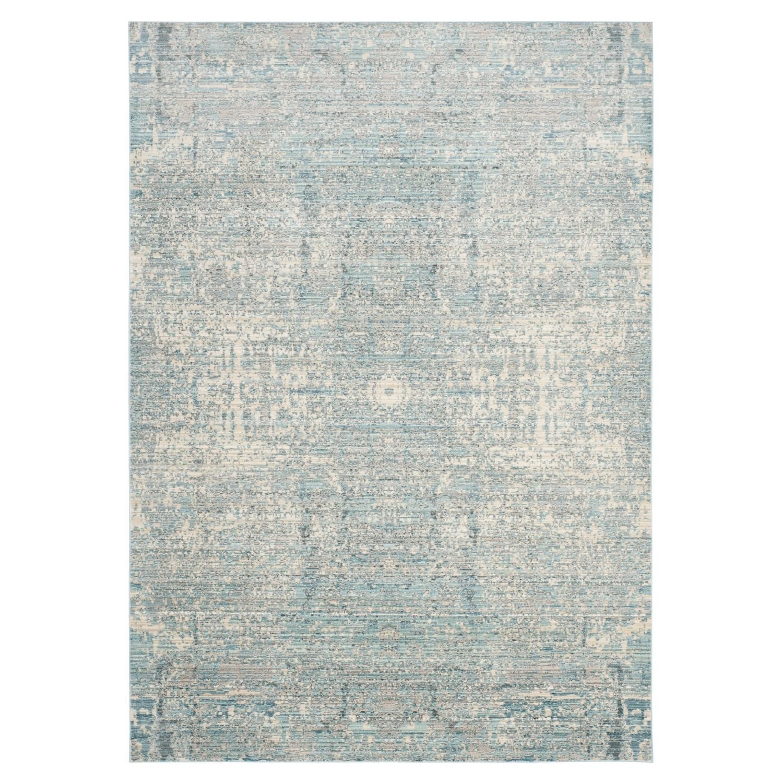 Teppich Abella Vintage - Kunstfaser - Hellblau - Creme / Petrol - 243 x 304 cm, Safavieh