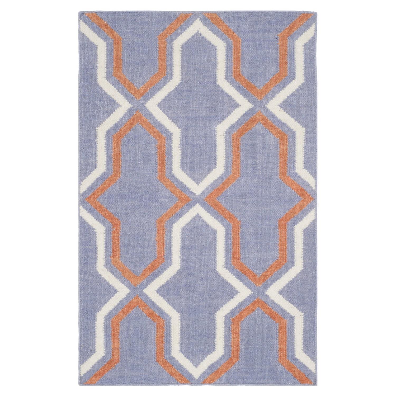Image of Tappeto Aklim - Viola/Color crema/Arancione crema 153 x 244 cm, Safavieh