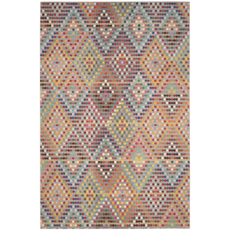 Tapijt Alina - kunstvezel - meerdere kleuren - 121x170cm, Safavieh