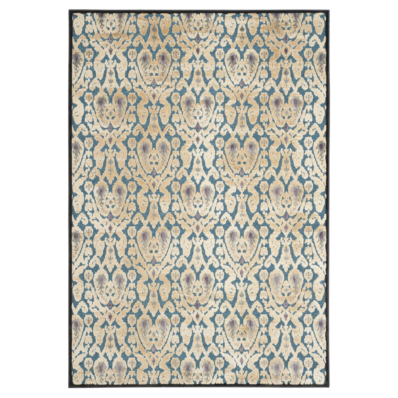 Teppich Aziz - Anthrazit/Petrol - 244 x 341 cm, Safavieh