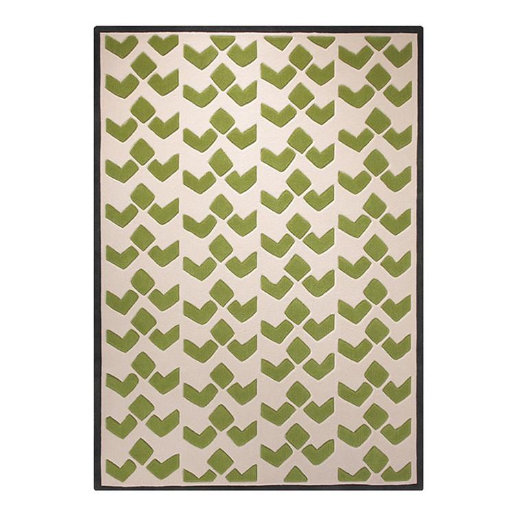 Home 24 - Tapis bauhaus - vert - 140 x 200 cm, esprit home