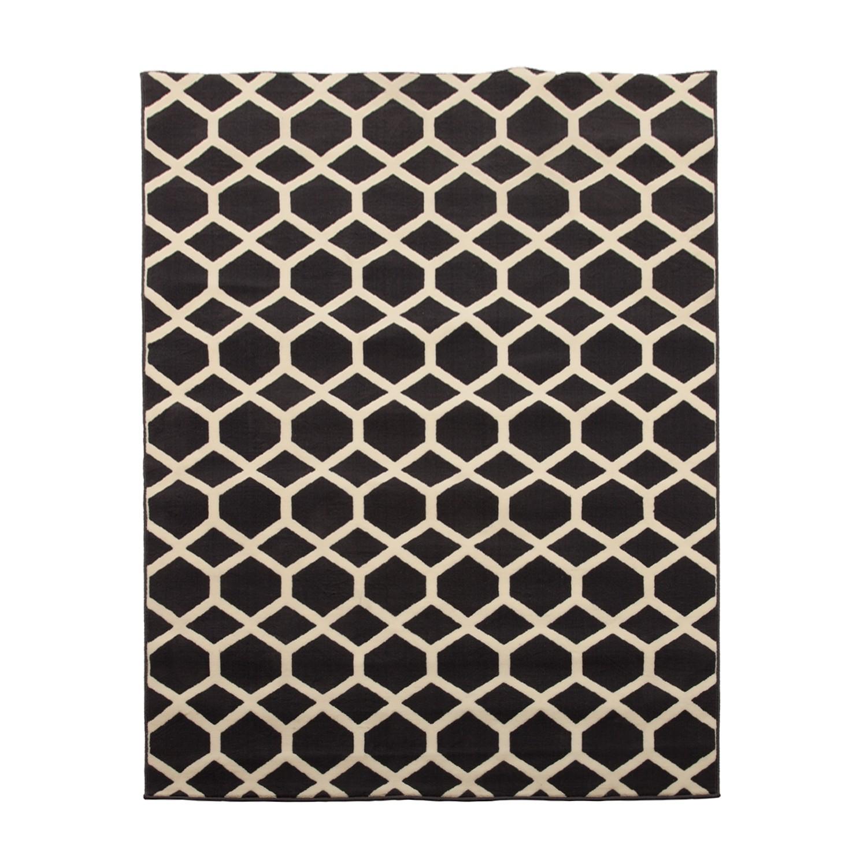 Home 24 - Tapis boras - fibres synthétiques - gris foncé - 200 x 290 cm, kiydoo