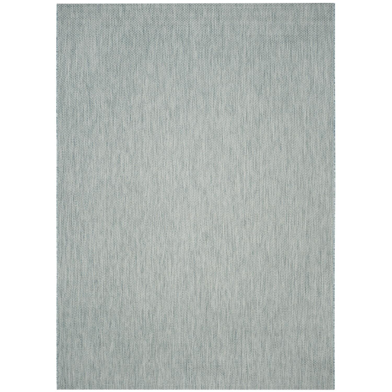 In & Outdoor Teppich Como - Kunstfaser - Petrol - 243 x 304 cm, Safavieh
