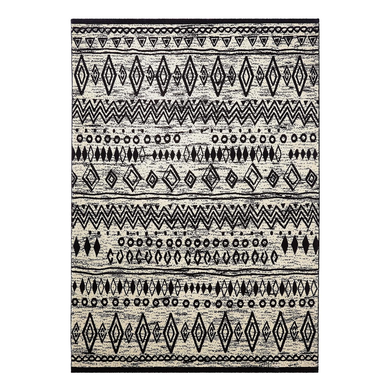 Home 24 - Tapis contemporary kelim - noir / blanc - 120 x 170 cm, wecon home