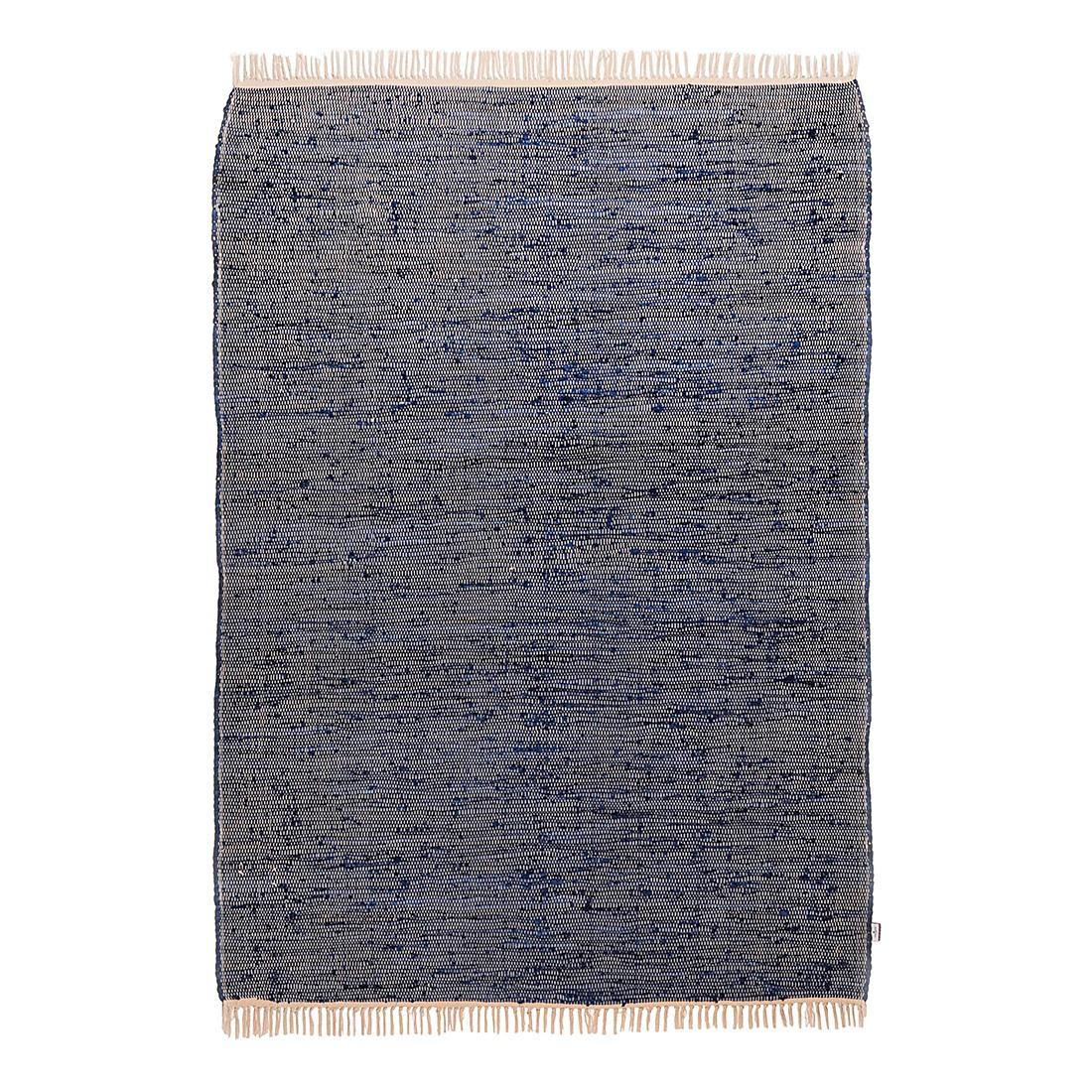Vloerkleed Cotton - Jeansblauw - 60x120cm, Tom Tailor
