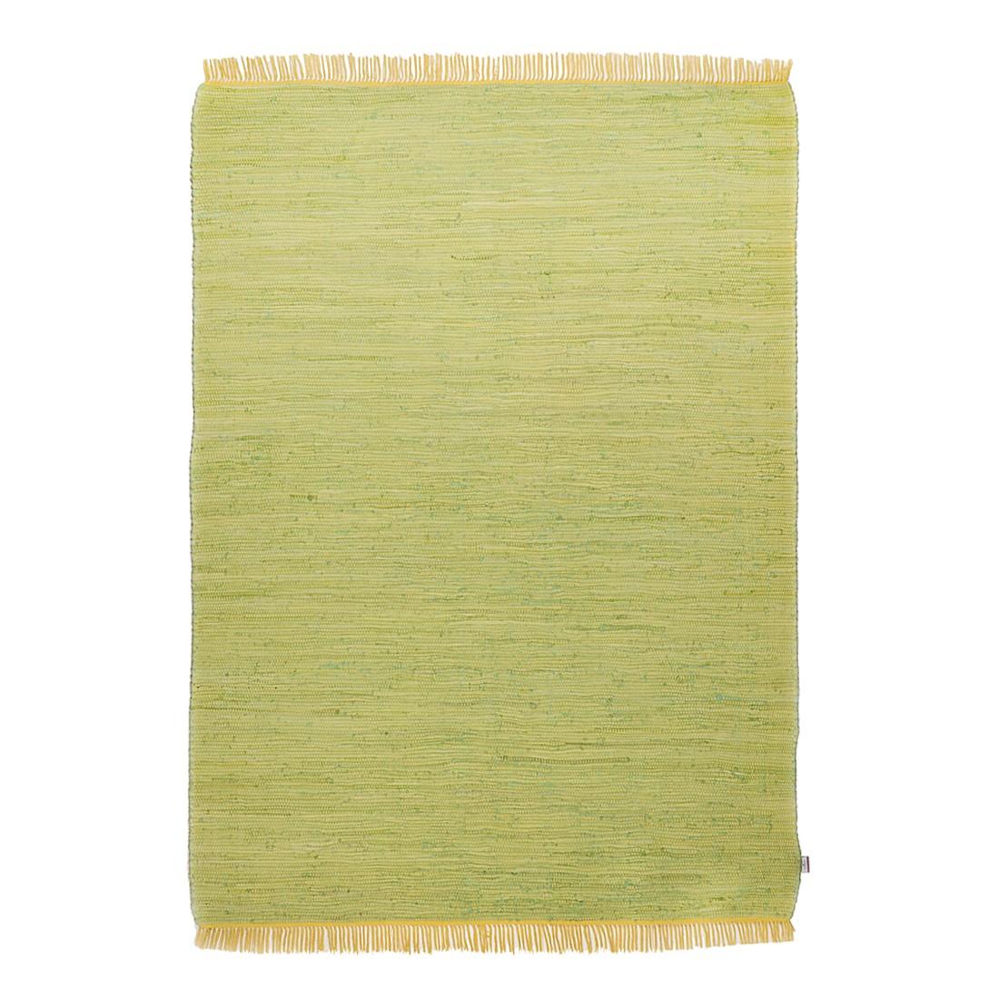 Vloerkleed Cotton - Groen - 80x150cm, Tom Tailor