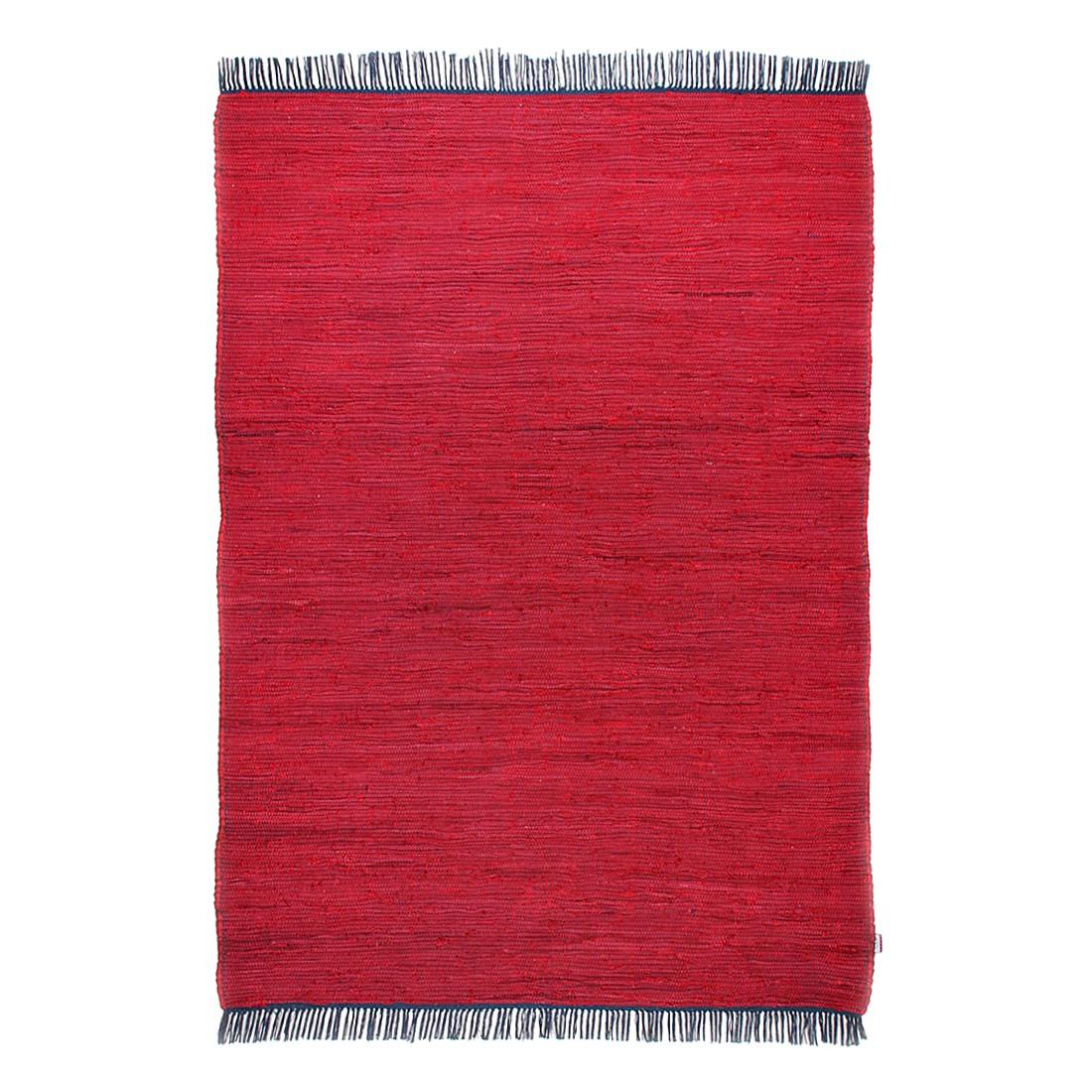 Vloerkleed Cotton - Rood - 160x230cm, Tom Tailor