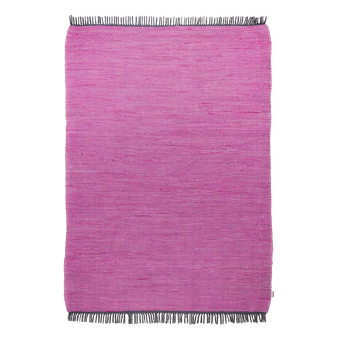 Vloerkleed Cotton - Paars - 80x150cm, Tom Tailor