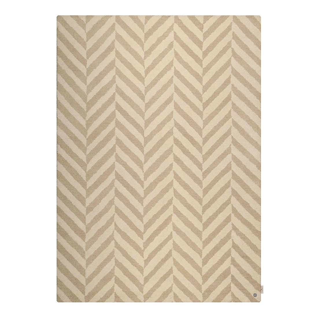 Tapijt Country Zigzag - beige - maat: 140x200cm, Tom Tailor