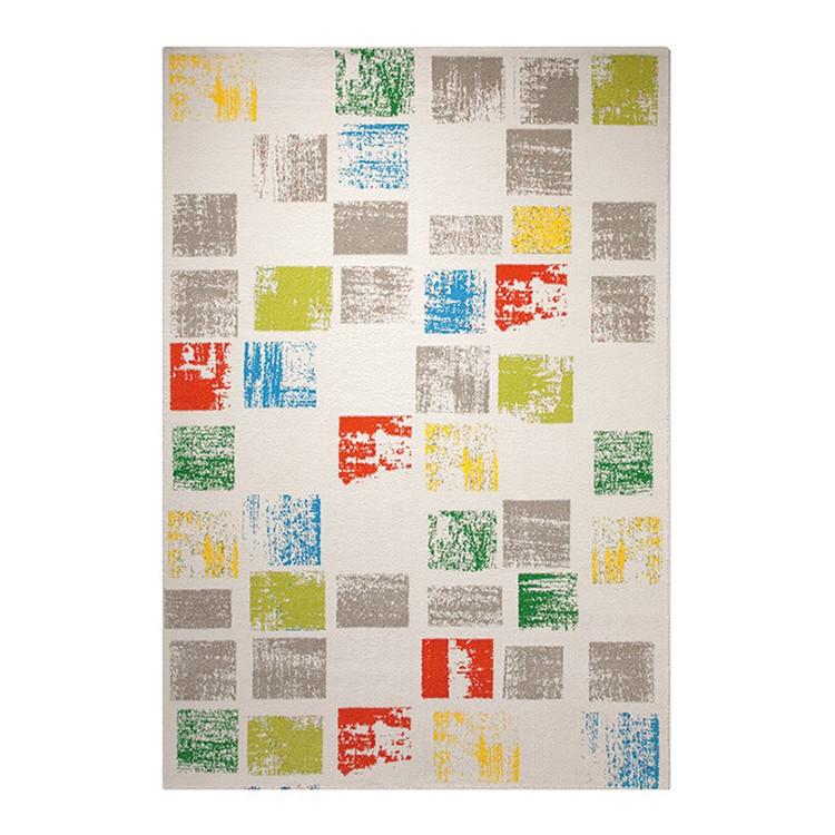 Teppich Cuadros - Weiß - Maße: 80 x 150 cm, Esprit Home