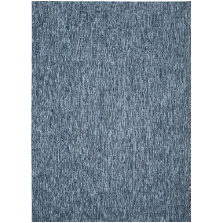 Tapijt Delano - kunstvezel - Blauw - 78x152cm, Safavieh