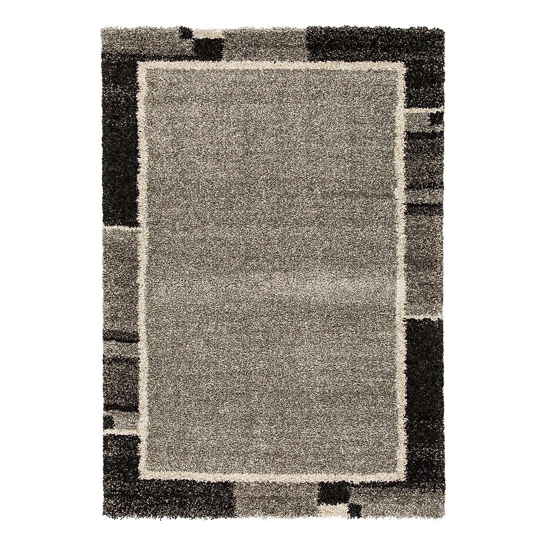 Home 24 - Tapis design tissé gris - fibre spéciale synthétique fine 3 - 140 cm x 200 cm, home24 deko