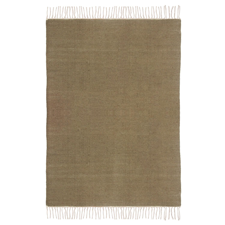 preisvergleich teppich fil wolle braun 200 x 300. Black Bedroom Furniture Sets. Home Design Ideas